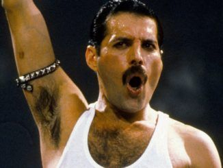 Freddie Mercury. Live Aid 1985.