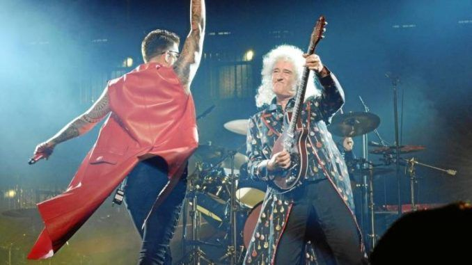 Queen + Adam Lambert en Madrid el 9 de junio de 2018.