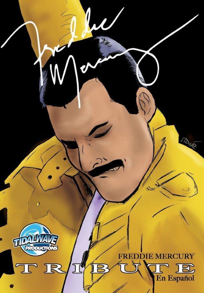 Cómic Freddie Mercury en español