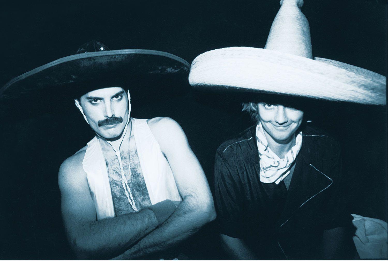 Freddie Mercury y Roger Taylor