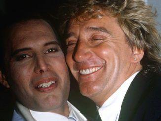 Rod Stewart y Freddie Mercury