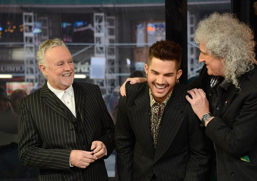 Queen Adam Lambert Roger Taylor Brian May