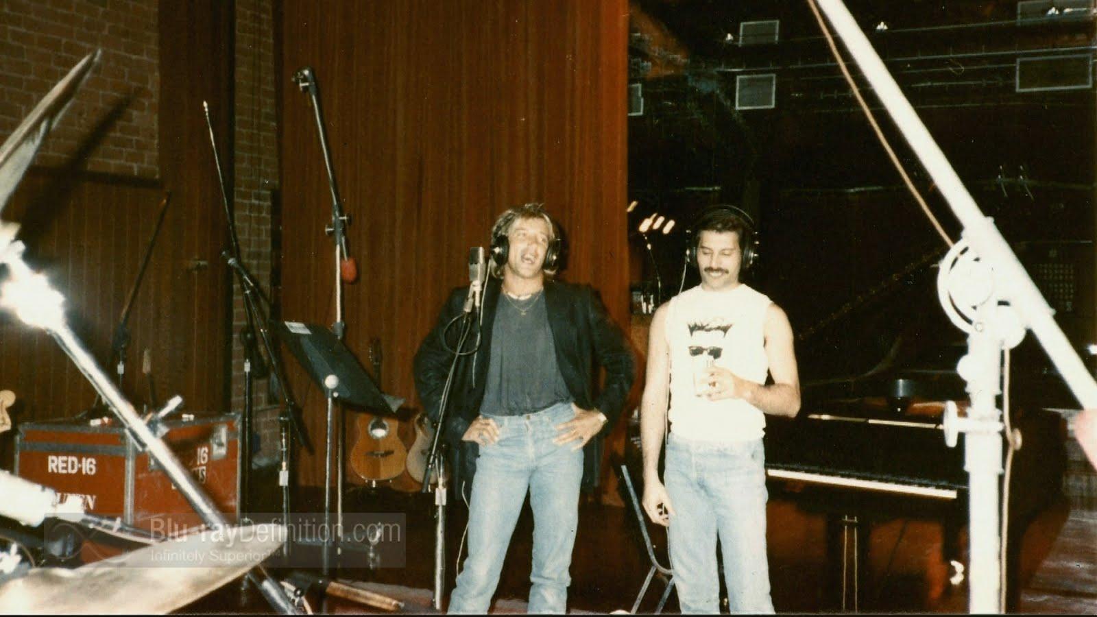 Freddie Mercury y Rod Stewart