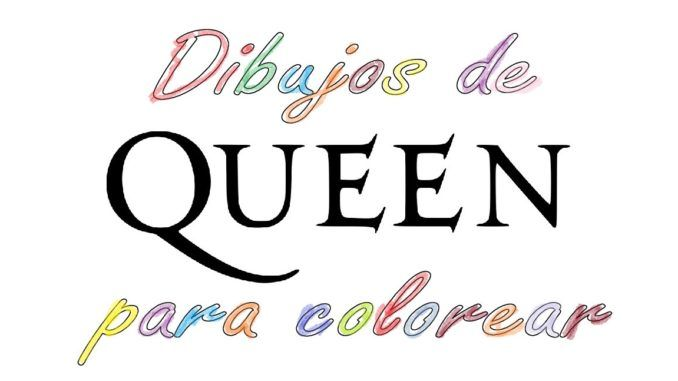 Queen Cuaderno Colorear