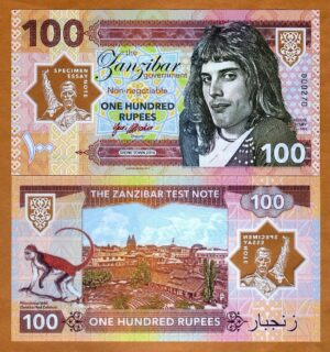 Billete Freddie Mercury 2018