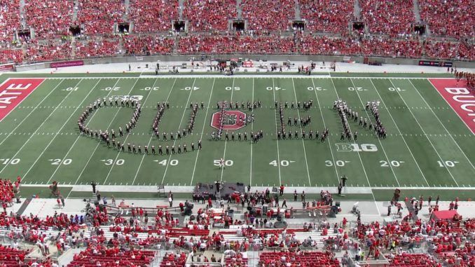 Ohio State Marching Band Queen Tribute
