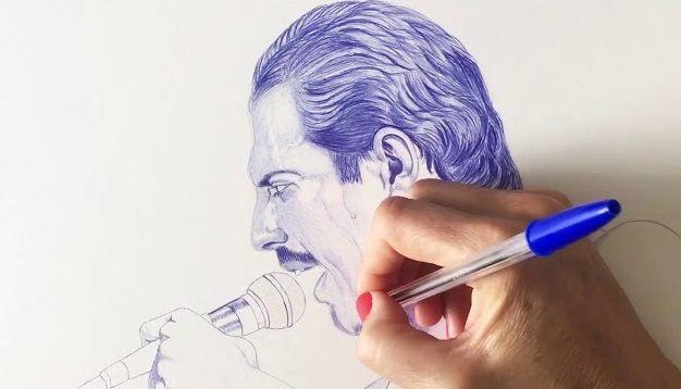 Freddie Mercury BIC