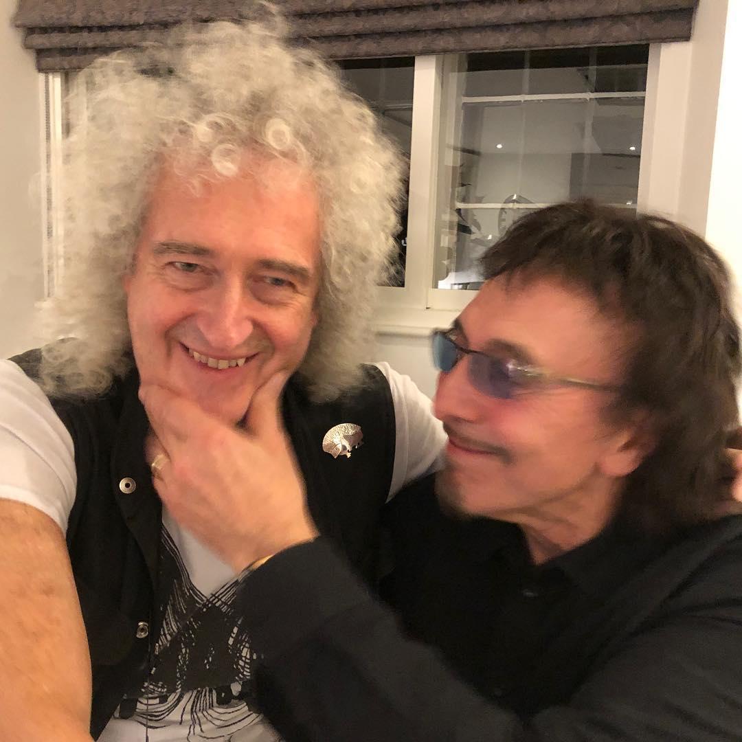 Brian May Tony Iommi