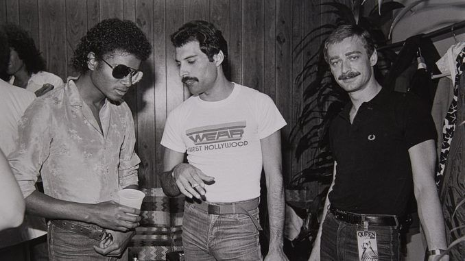 paul prenter freddie mercury michael jackson 1982