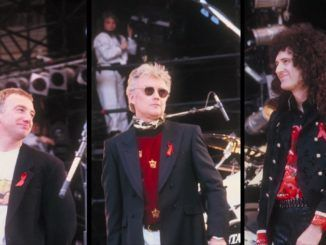 freddie mercury tribute concert john deacon brian may roger taylor wembley 1992