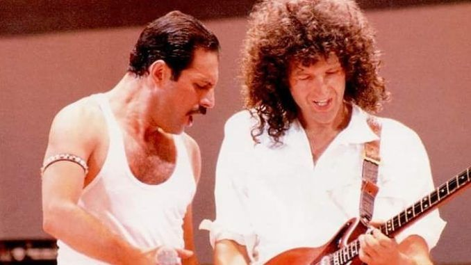 brian may queen live aid 1985 freddie mercury