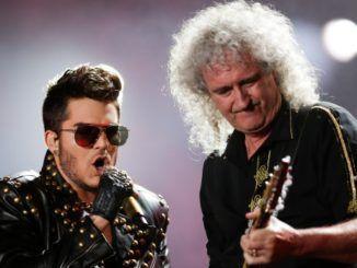 Adam Lambert Brian May Queen