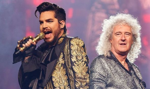Queen Adam Lambert Brian May