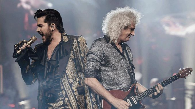Queen Brian May Adam Lambert