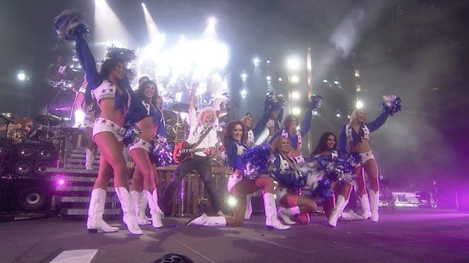 Dallas Cowboys Cheerleaders Queen Adam lambert
