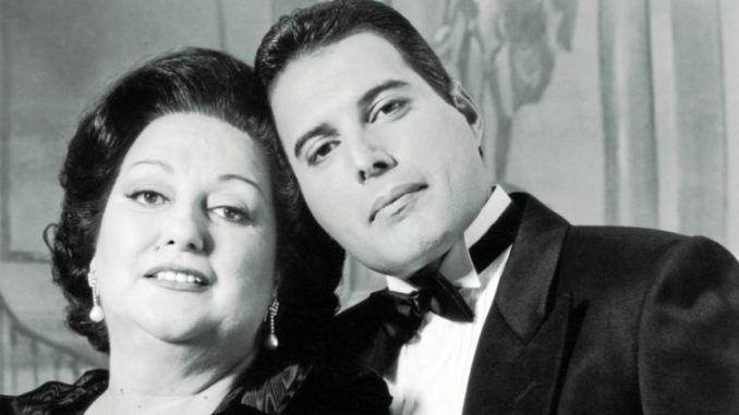 Freddie y Montserrat Caballé hoy