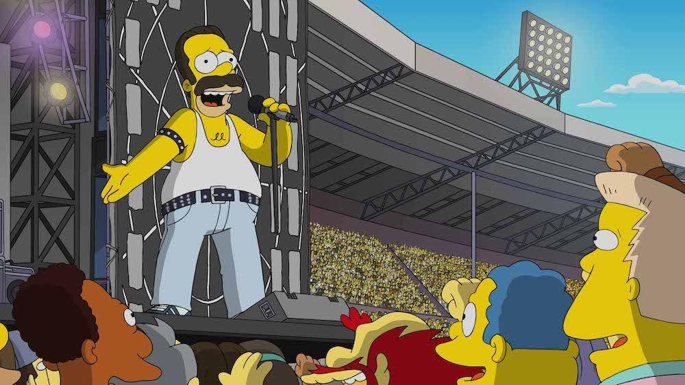 Queen Los Simpson Homer Simpsons