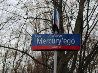 Calle Freddie Mercury Varsovia Polonia