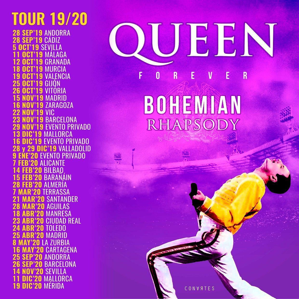 Queen Forever Gira