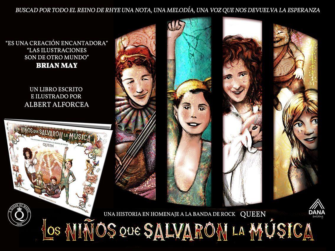 libro queen los niños que salvaron la música