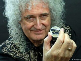 Brian May Moneda Queen