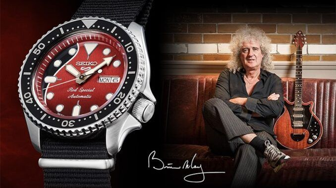 brian may seiko red special