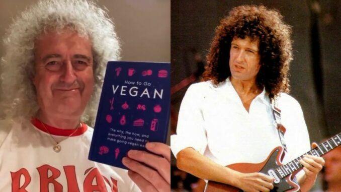 Brian May vegano 2020