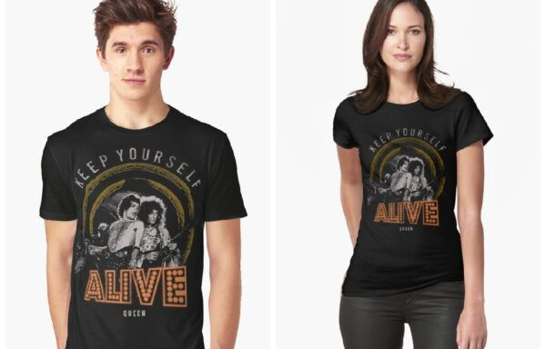 Camiseta Queen Keep Yourself Alive