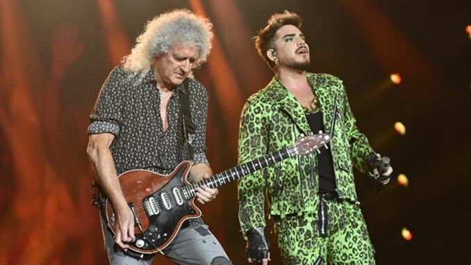 queen adam lambert fire fight australia 2020