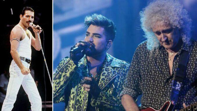 Freddie Mercury Queen Adam Lambert