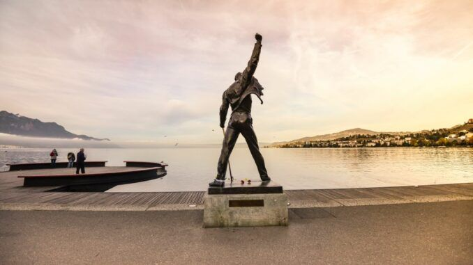 Freddie Mercury Statue Montreux Made In Heaven