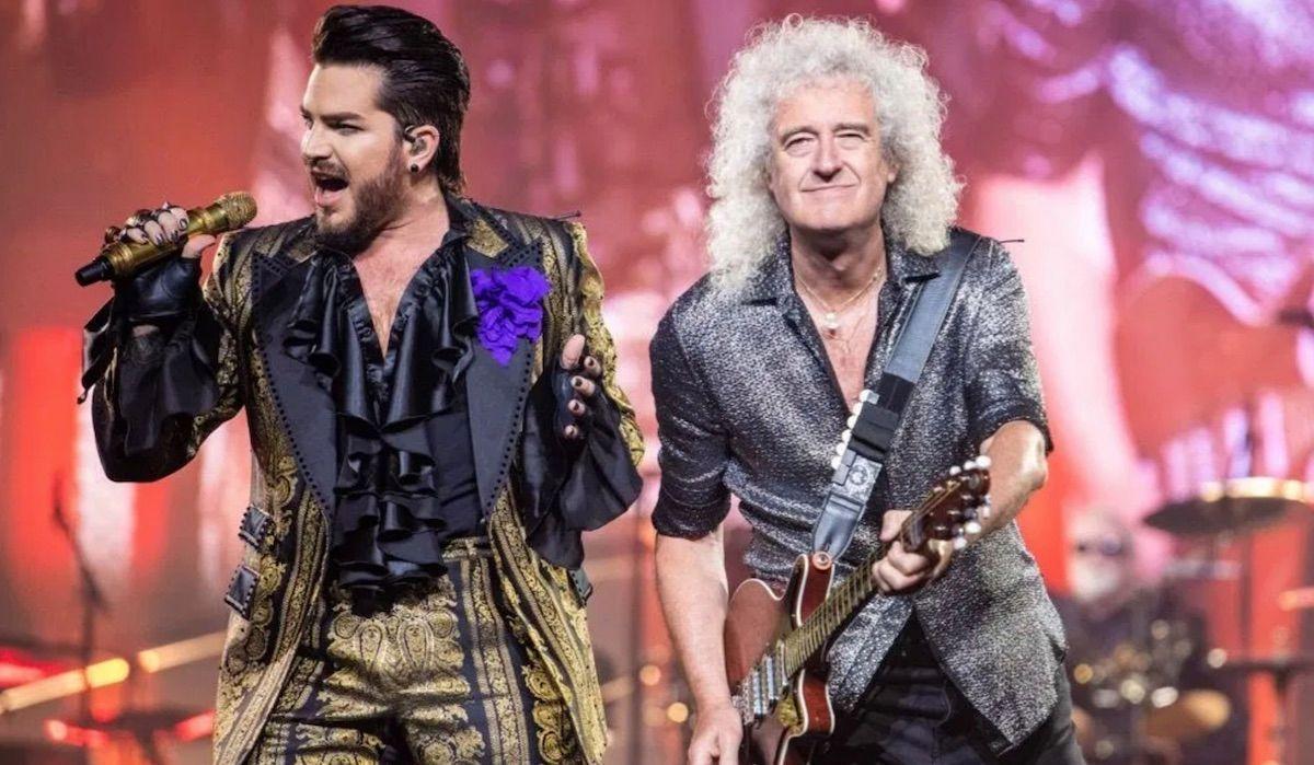 adam lambert brian may rhapsody tour queen