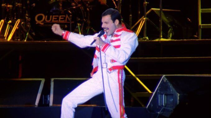 queen freddie mercury magic tour a kind of magic budapest 1986