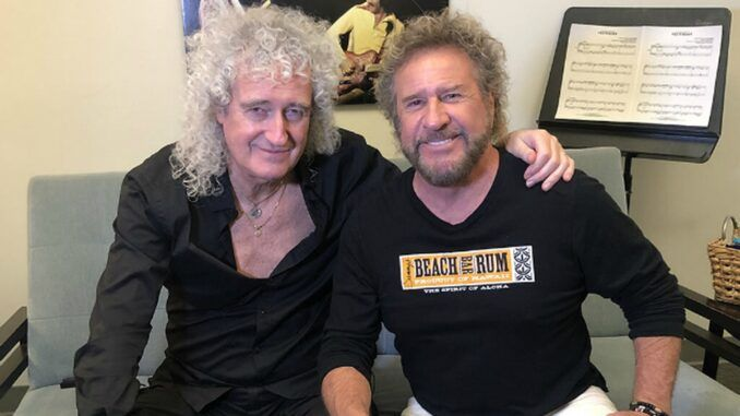 brian may sammy hagar