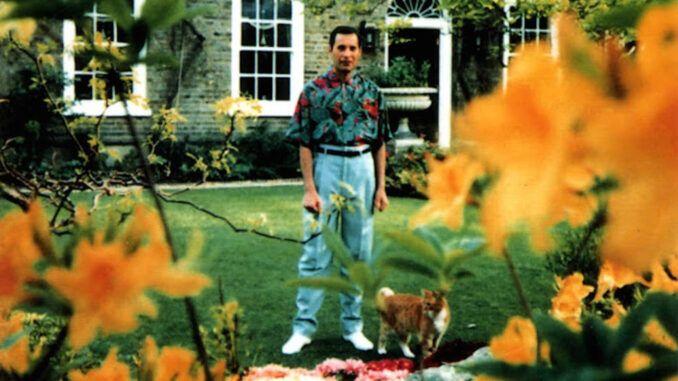 Freddie Mercury en Garden Lodge