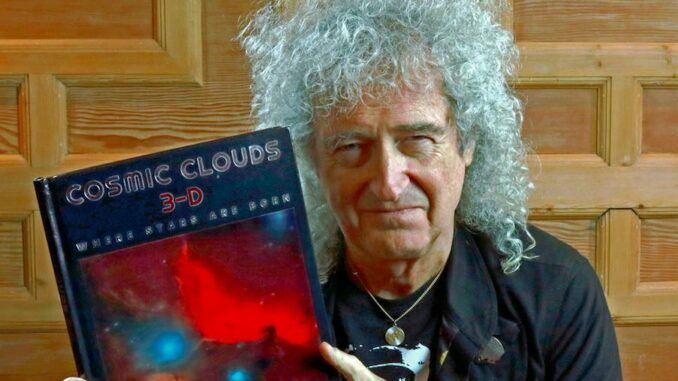 Brian May Cosmic Clouds 3-D Libro