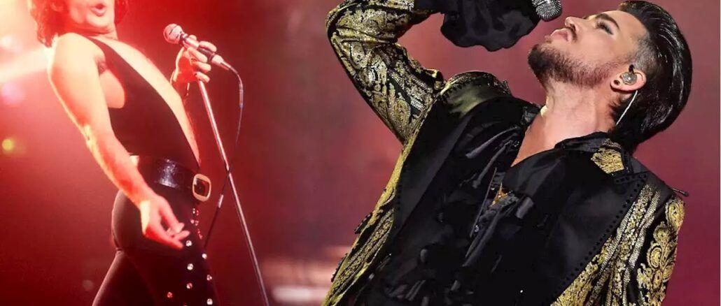 Freddie Mercury Adam Lambert Queen