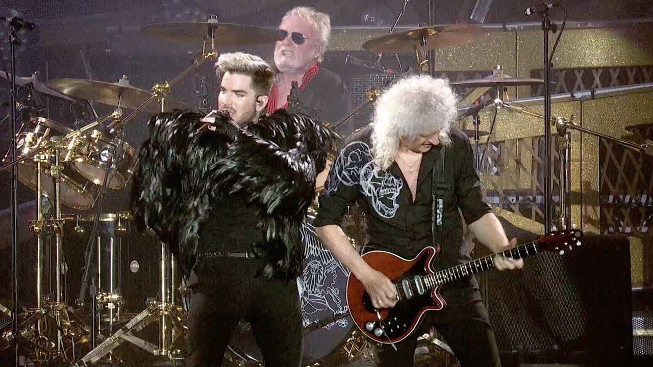 Queen Adam Lambert Brian May Roger Taylor