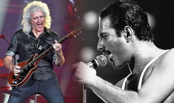 Brian May Freddie Mercury Queen