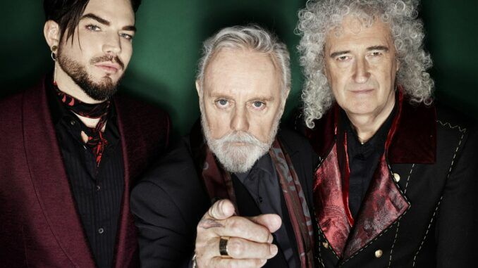 queen adam lambert brian may roger taylor qal aqueenofmagic
