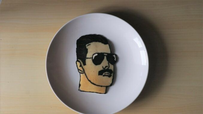 freddie mercury queen tortita