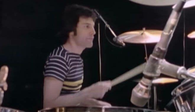 freddie mercury queen bateria drums