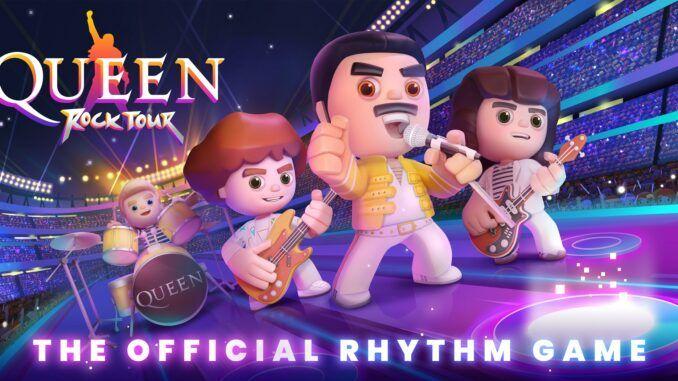 Queen Rock Tour Poster