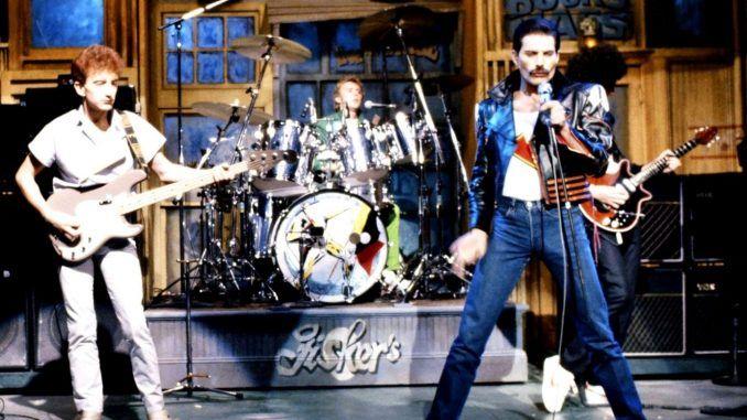 Queen Saturday Night Live 1982