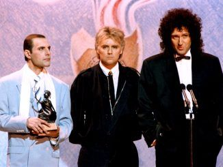 freddie mercury brit awards 1990 queen