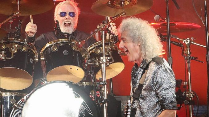 queen brian may roger taylor live
