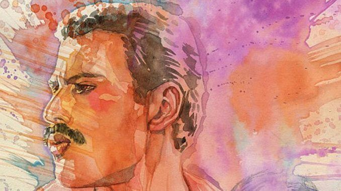 Freddie Mercury Novela Grafica