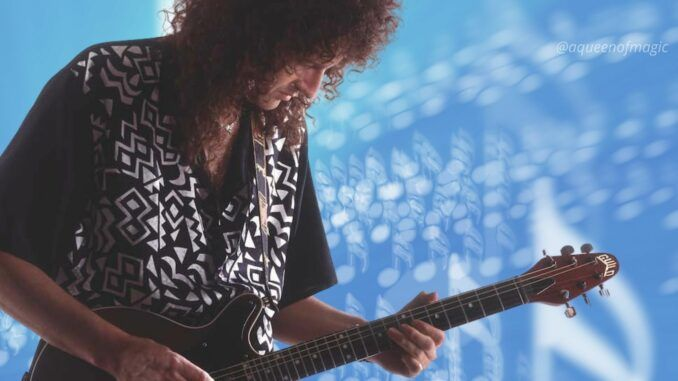brian may driven by you back to the light queen video