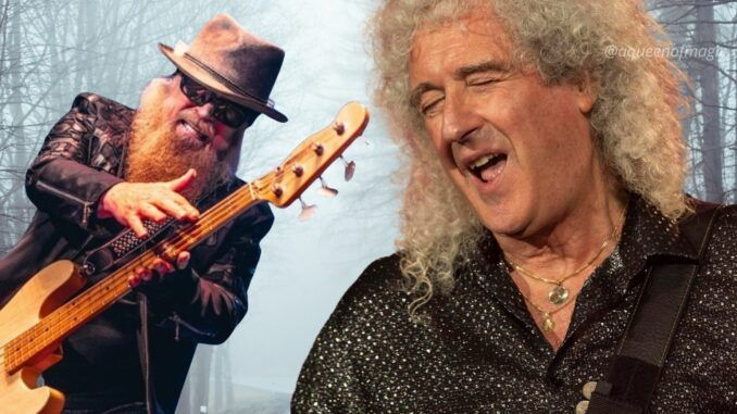 brian may queen dusty hill zz top