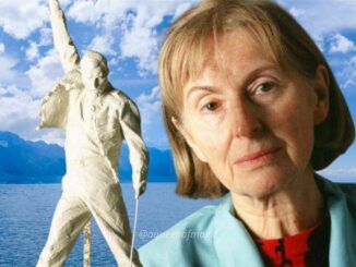Irena Sedlecká Queen Freddie Mercury Estatua Montreux